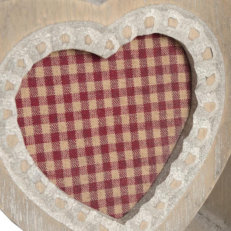 Bokstöd hjärtan