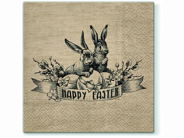 Påsk Servetter Happy Easter