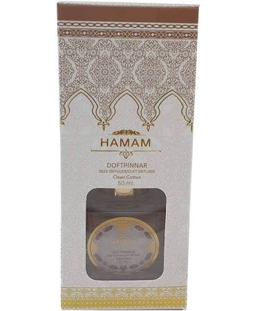 Haman Doftpinnar Rumsdoft Clean cotton