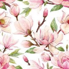 Servetter Magnolia