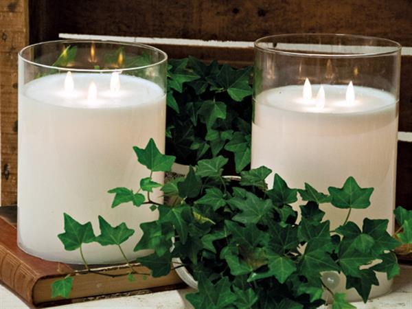 Eternity Candle - LED lykta med 3 lågor och timer
