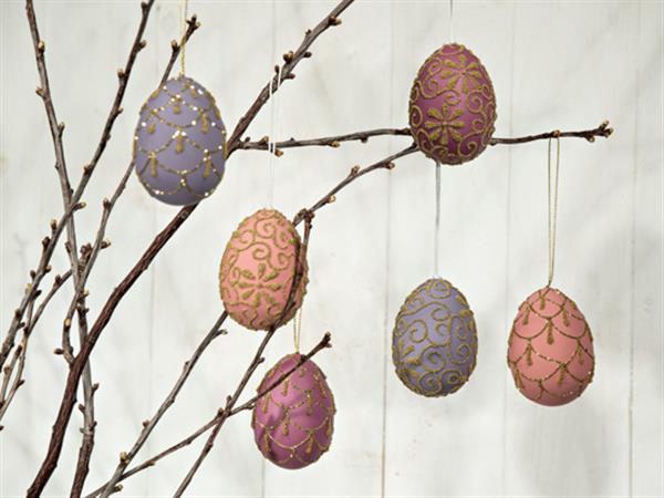 Vackra ägg att hänga