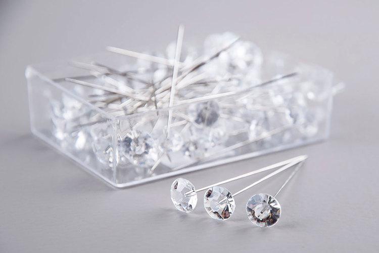 Diamantnål -10 st- Tre olika storlekar