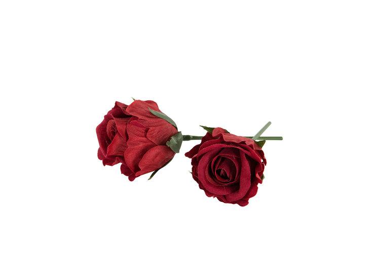 Tygros/Vattenfast- Röd - 3 cm