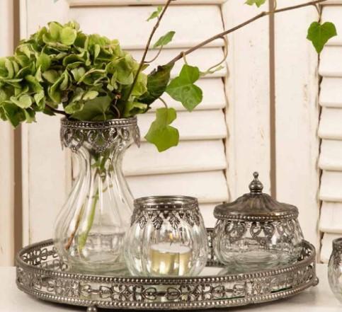 Vas till hyacint eller blommor