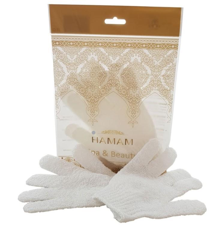 Hamam  peelinghandskar-Vita