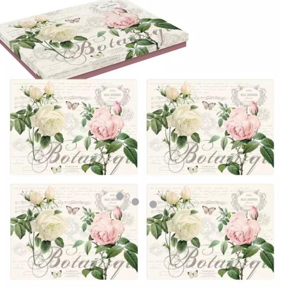 Bordsunderlägg med vackra rosor