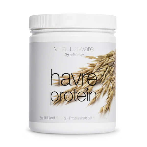 WellAware Svenskt Havreprotein 500 g