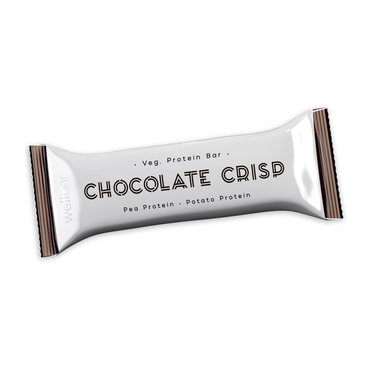 WellBar Chocolate Crisp 50 gram - Veg. Glutenfri. Laktosfri