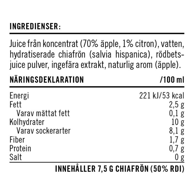 Chia Humara Dryck – Smak av Rödbeta & Ingefära