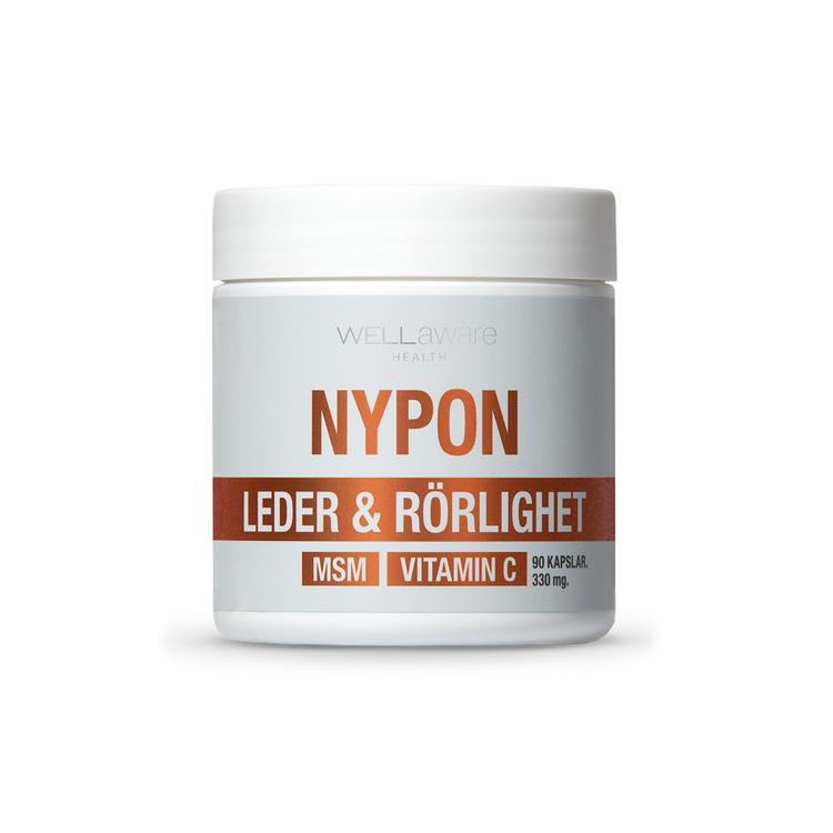 Nypon + MSM + Vitamin C – 90 Kapslar