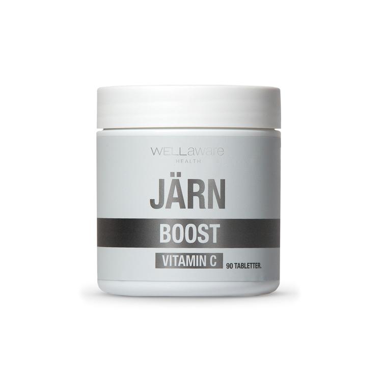 Järn & vitamin C - 90 minitabletter