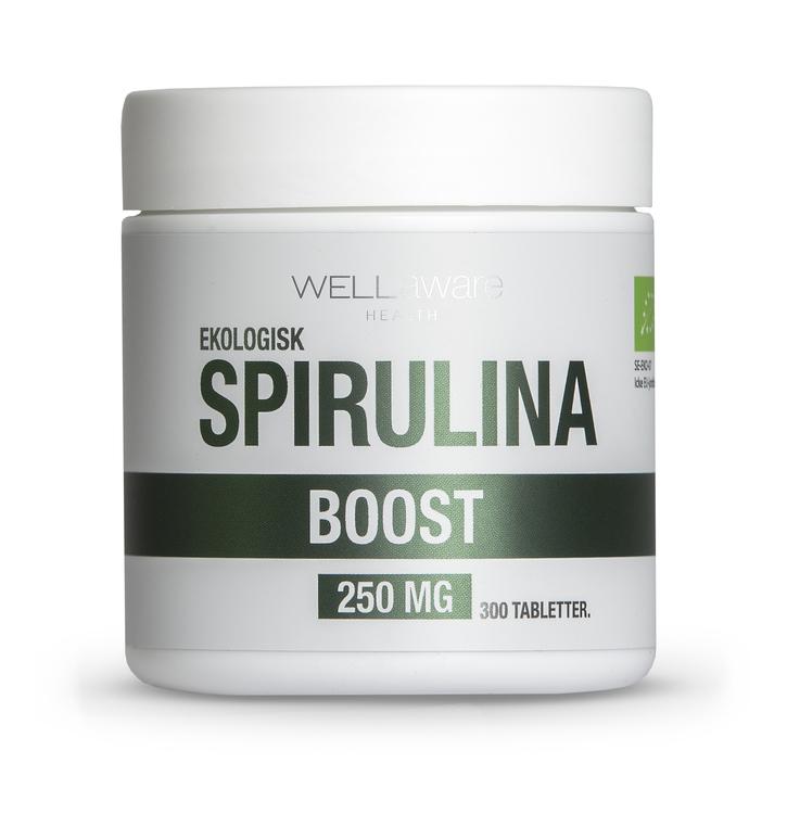 WellAware EKO Spirulina - Tabletter - 300 st 250 mg