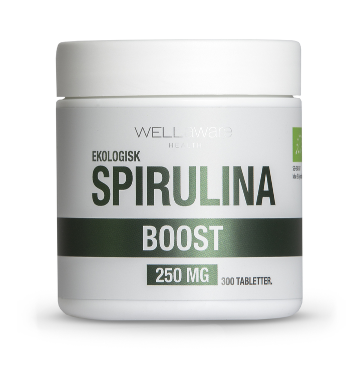 WellAware EKO Spirulina - Tabletter - 300 st 250 mg
