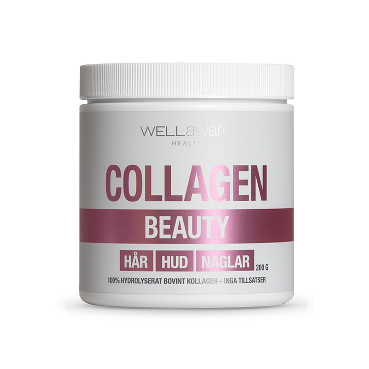 WellAware Beauty Collagen – 100% hydrolyserat kollagen