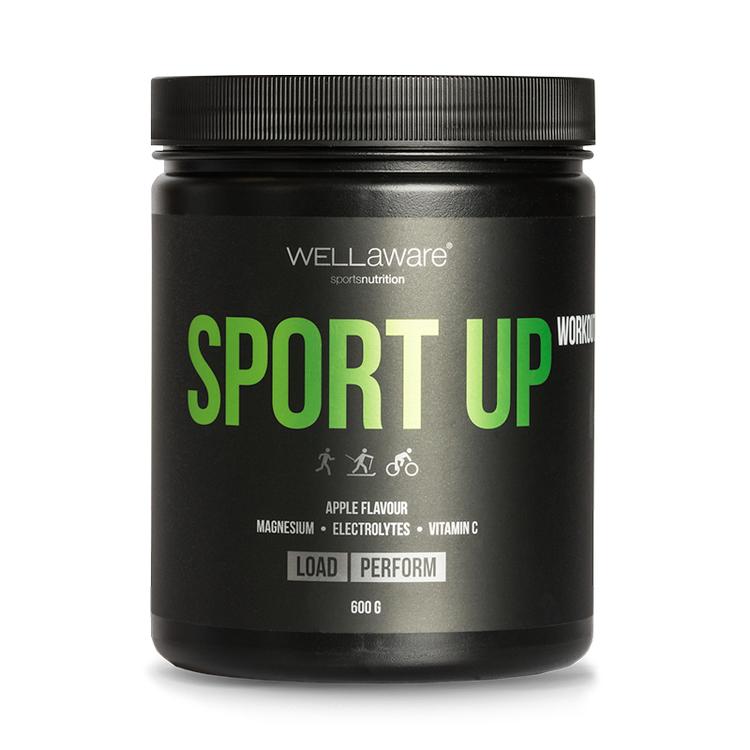Workout SportUp Äpple - Sportdryck 600 g
