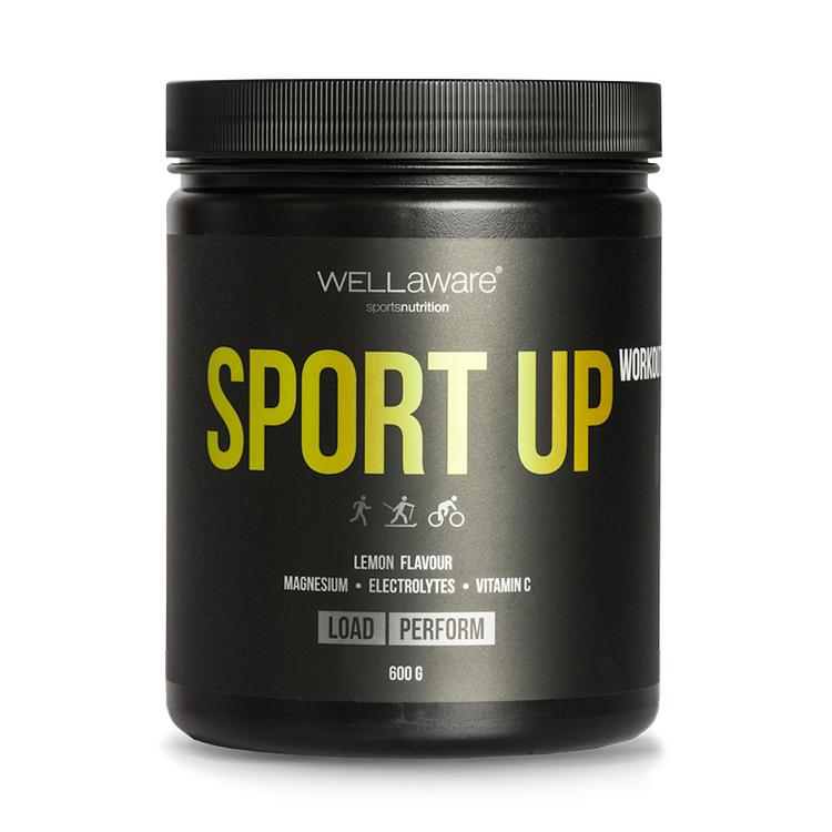 Workout SportUp Sitruuna - Urheilujuoma 600 g