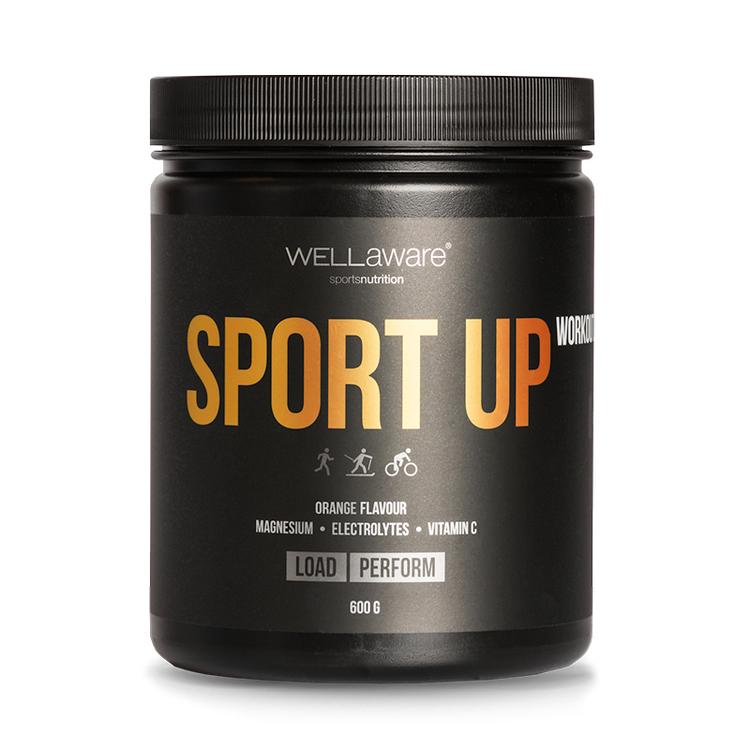 Workout SportUp Apelsin - Sportdryck 600 g