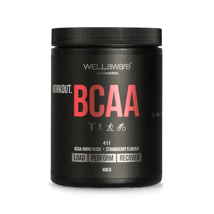 Workout BCAA 4:1:1 Jordgubb 400 g