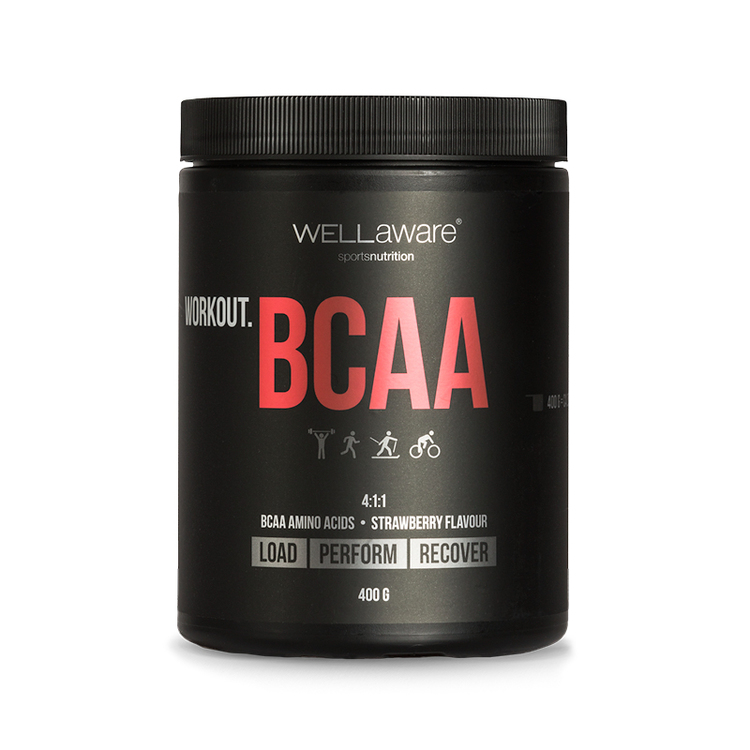 WORKOUT. BCAA 4:1:1 Jordgubb 400 g