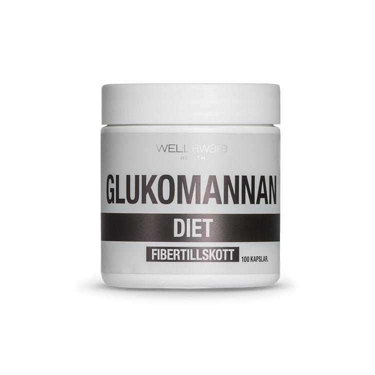 Glukomannan - 100 kapslar