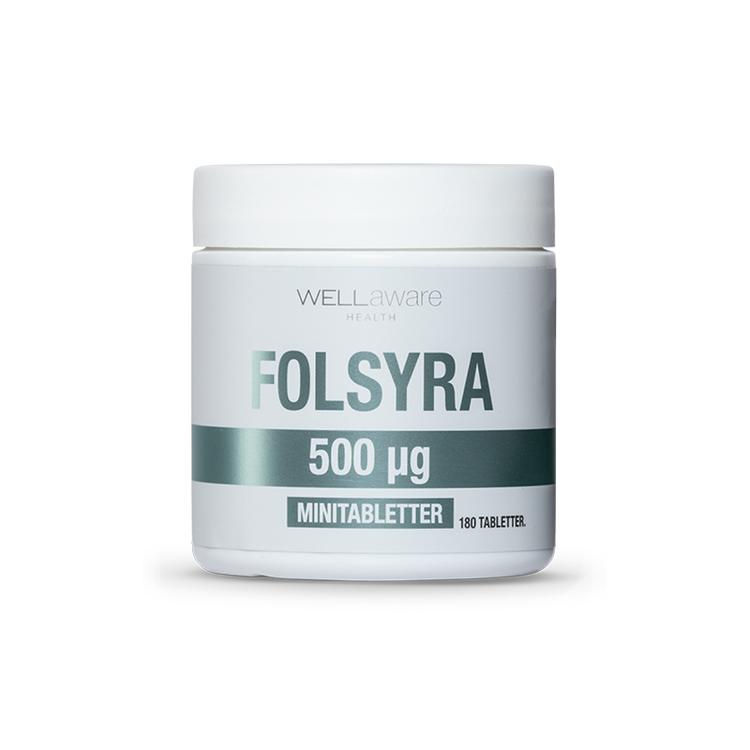 Folsyra - 180 minitabletter