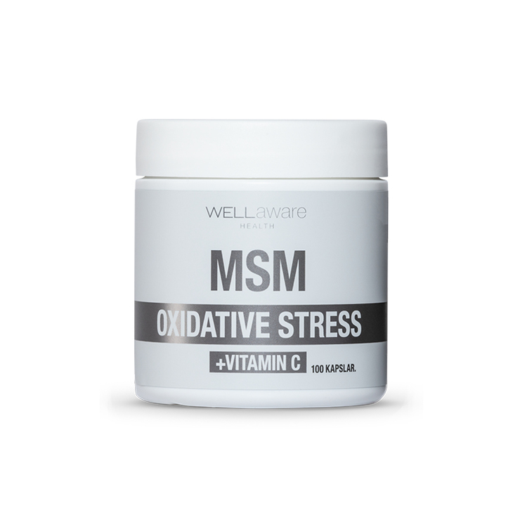MSM & Vitamin C - 100 kapslar