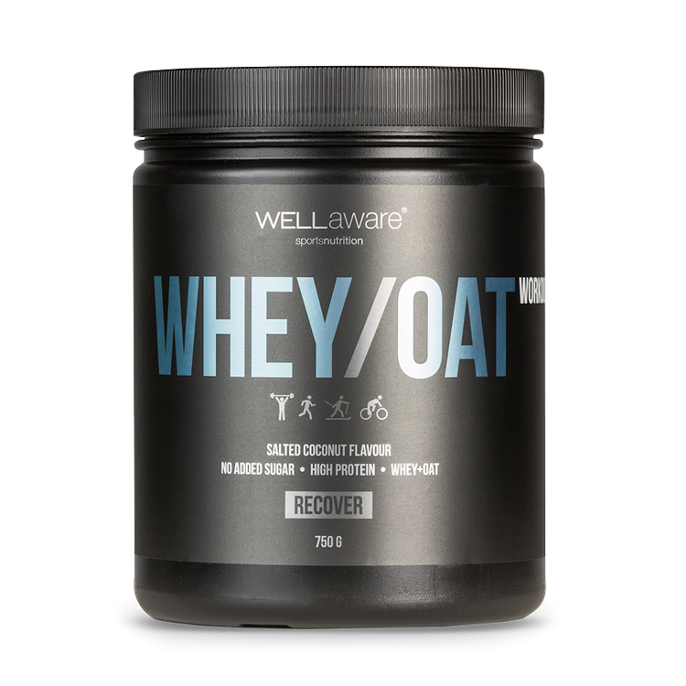 Whey/Oat Proteinpulver Salted Coconut 750g