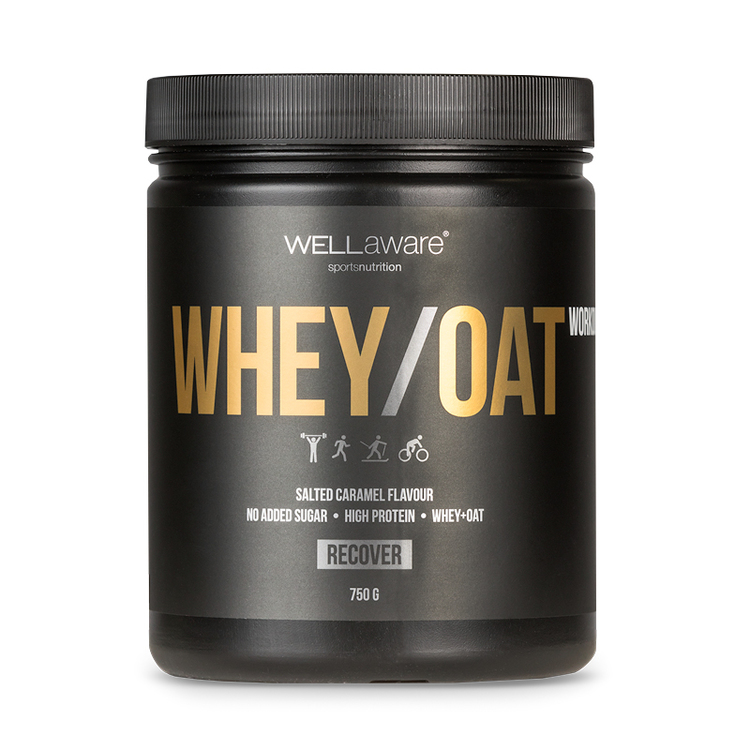 Whey/Oat Proteinpulver Salted Caramel 750 g