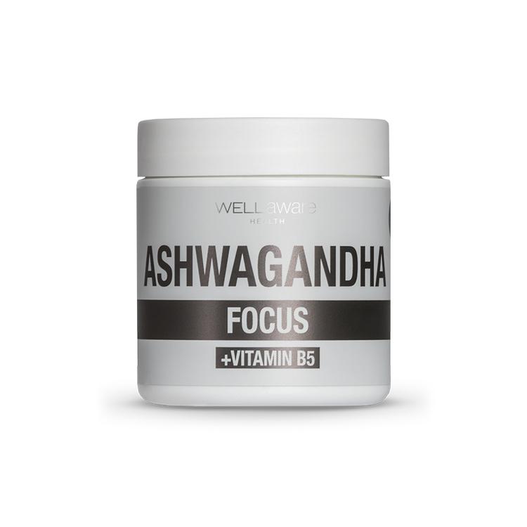 Ashwaganda & Vitamin B5 - 90 kapslar