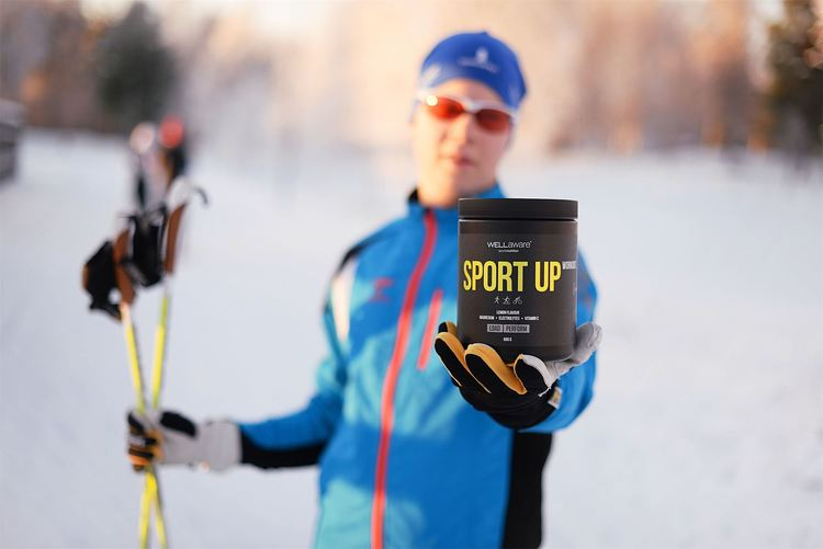 WORKOUT. SportUp Citron - Sportdryck 600 g