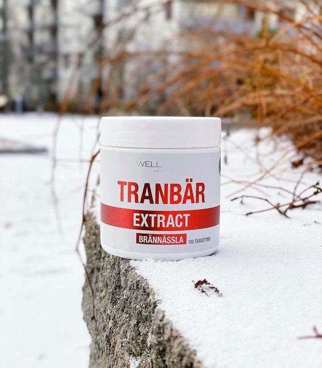 Tranbärs- och Brännässla extrakt - 180 minitabletter