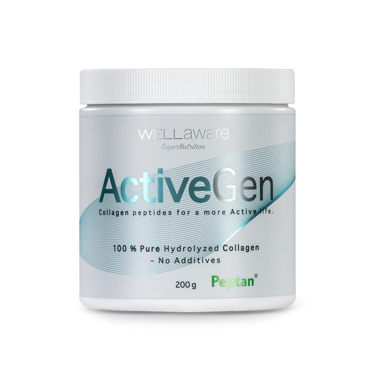 WellAware ActiveGen Collagen – 100% hydrolyserat kollagen