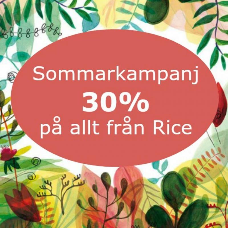 RICE- 30 % på allt
