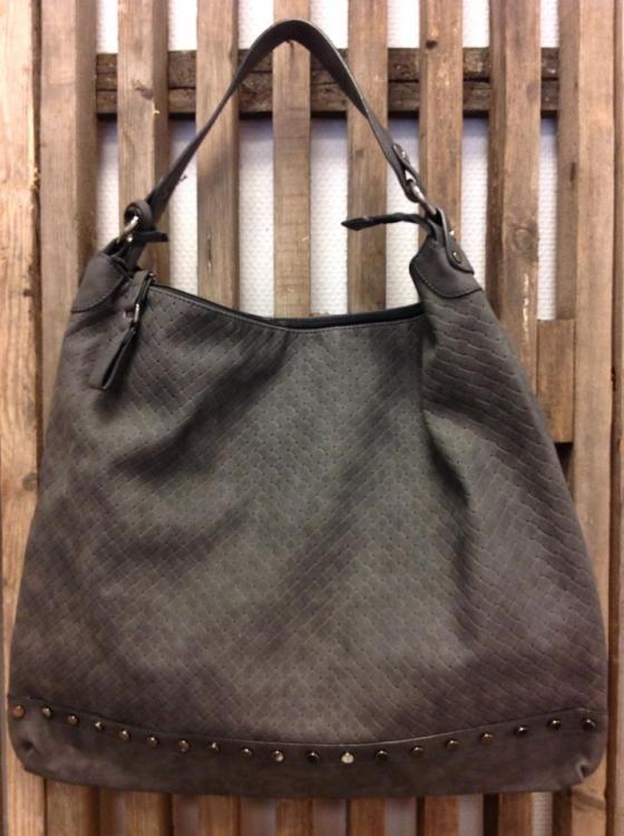 Väska grå-CAT