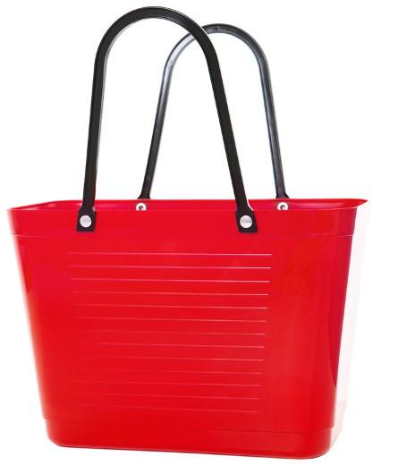 Väska liten röd HINZA