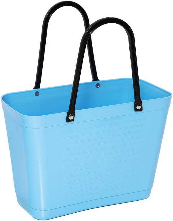 Väska liten ljusblå HINZA -Green Plastic