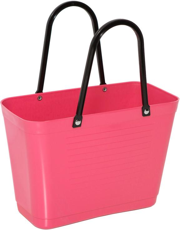 Väska liten tropikrosa HINZA -Green Plastic