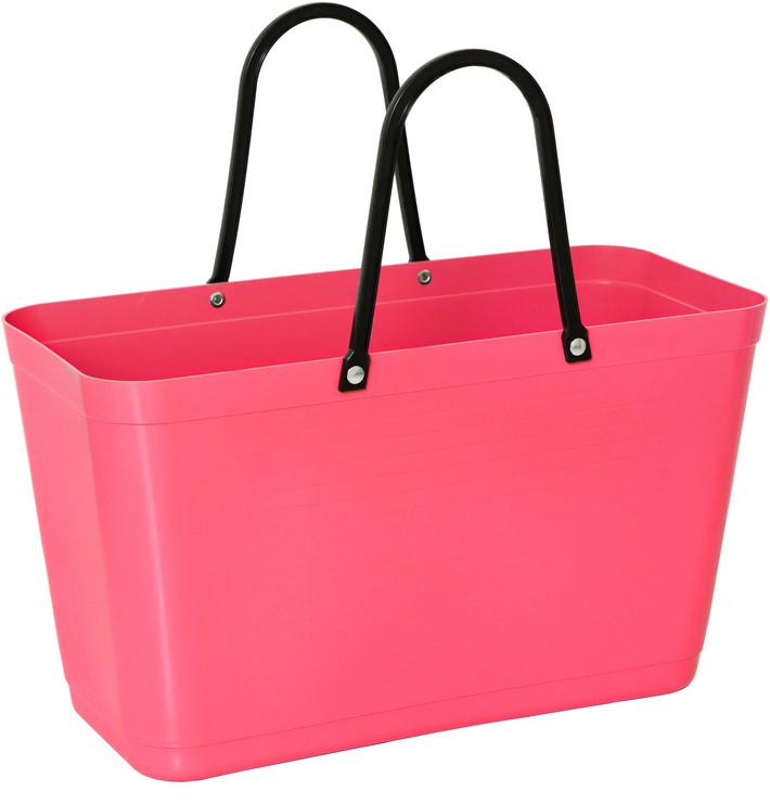 Väska stor tropikrosa HINZA -Green Plastic