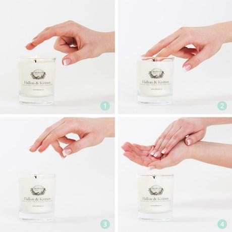 Doft/massageljus rabarber & vanilj - KLINTA
