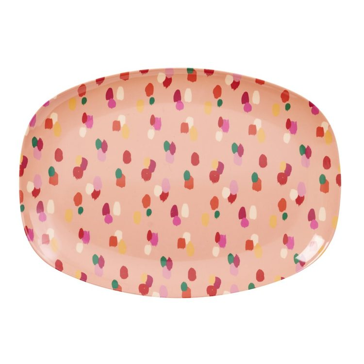 Bricka  Coral Dapper Dot-RICE