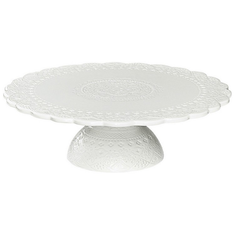 Tårtfat vit-CULT DESIGN