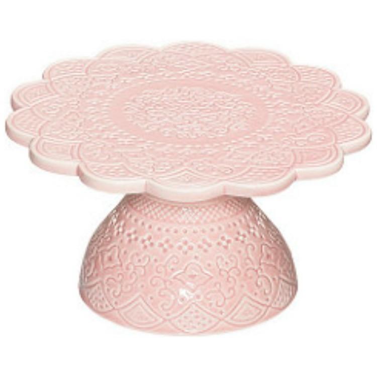 Tårtfat mindre rosa CULT DESIGN