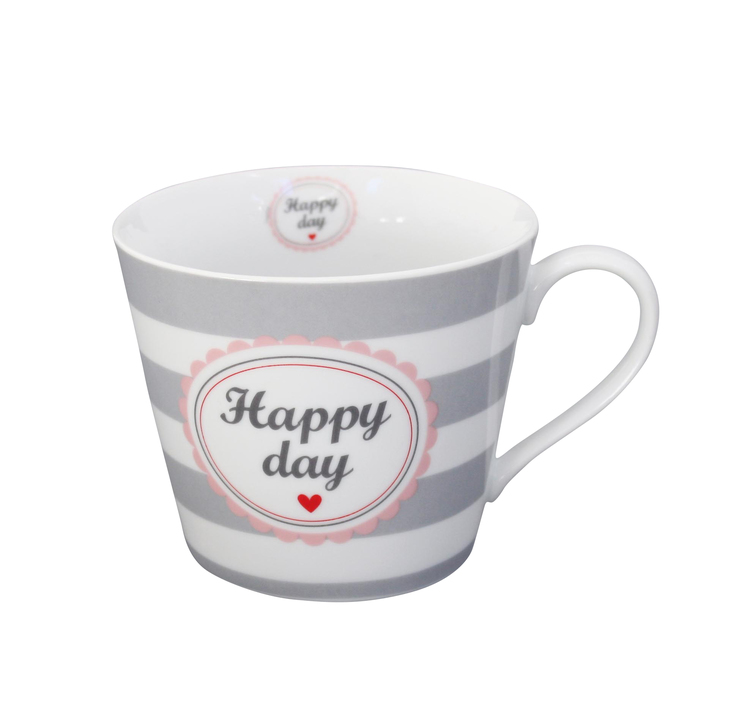 Happy mugg Happy day med öra