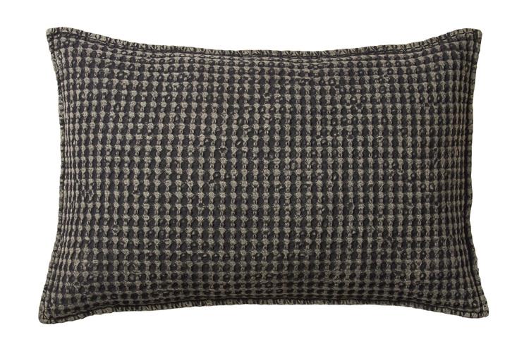 Kuddfodral mörkgrå-RUT