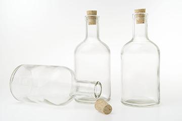 Flaska glas