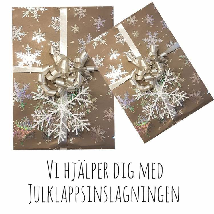 Presentinslagning Jul