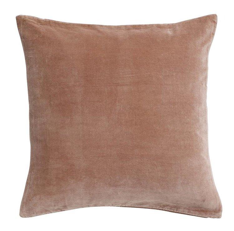 Kuddfodral rosa sammet-NORDAL