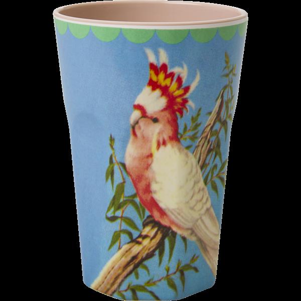 Mugg hög kakadua-RICE