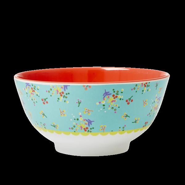 RICE skål miniblommor